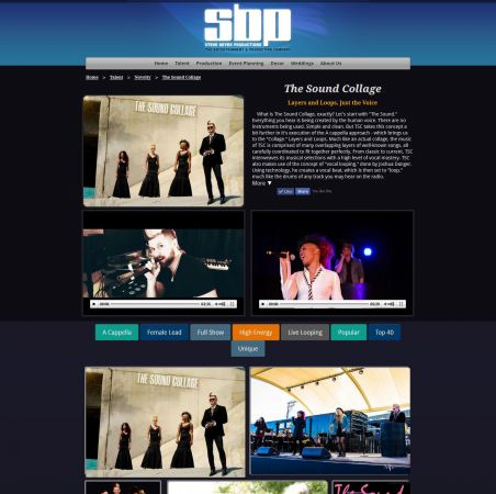 Talent Showcase WebApp #365<br>1,432 x 1,425<br>Published 4 years ago